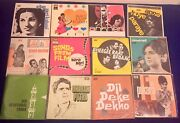 34 Bollywood Vinyl Job Lot Very Great Condition Of Media And Covers.