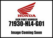 Honda 2018 Pioneer Sxs Seat Support Pipe 71930-hl4-g01 New Oem