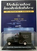 Ford F-150 1982 Argentina Air Force Diecast Car 143 Sealed + Magazine