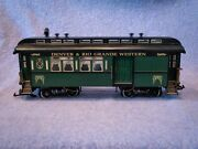 Rea G Gauge Denver And Rio Grand Western Illuminated Baggage And Passenger Cars