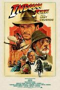 Indiana Jones And The Last Crusade Limited Edition Signed Print Paul Mann R21