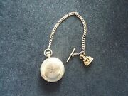 Vintage Elgin Natl. Watch Co. Ill Pocket Watch With Chain/pendant Serial3373134