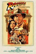 Raiders Of The Lost Ark Limited Edition Print Signed Paul Mann R2021 Spielberg
