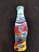 Pin Coca Cola Olympic Athens 2004 Bottle Puzzle