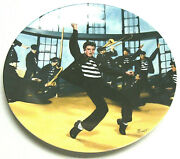 Elvis Presley Plate 2 Jailhouse Rock From Looking At A Legend Collection