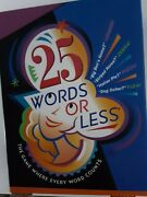 25 Words Or Less Board Game - 2002 New Hasbro