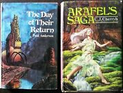 The Day Of Their Return And Arafeland039s Saga Hardcover Vintage Books W/ Dust Jackets