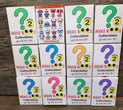 Ty Mini Boos Series 2 Hand Painted Blind Boxes Lot Of 8 New