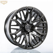 Fits 09+ Ford F-150 And Raptor 20 Metallic Venomrex Vr-603 Flow Forged Wheels 4pc