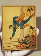 1940 Superman Card 25 Trapped In The Air
