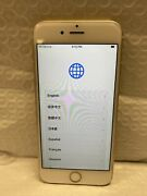 Apple Iphone 6 - 128gb- Gold Atandt Ic Locked - Sell As Replacement Parts Only