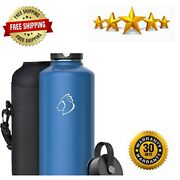 Vacuum Insulated Stainless Steel Water Bottle 87oz Bpa Free Double Wall
