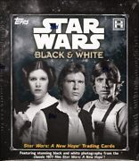 2018 Topps Star Wars A New Hope Black And White Hobby 12 Box Case Blowout Cards