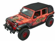 Soft Top For 18-21 Jeep Wrangler Unlimited Sahara Sport Rubicon S Moab Gs82h1