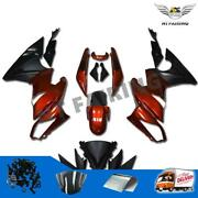 Injection Fairing Fit For Kawasaki 2009-2011 Er-6f Ninja 650r Ex650 Red Abs D002