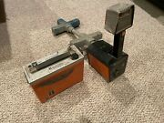 Metrotech 810 Cable Locator Receiver And Transmitter Powers On As Is Read 2
