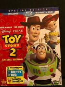 Disney Pixar 6 Movie Lot Dvd And Blu-ray Up Wall-e Toy Story 2 Incredibles More