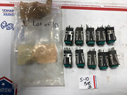 Lot Of 10 Micro-switch 9323 L173 Aml 20 Series Green Push Button 2a 250vac Used