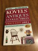 34th Edition Kovelsand039 Antiques And Collectibles Book 2002 Price List Guide