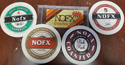 Nofx 4x Coaster Set Music Not Included Cd Lp Frisbee