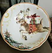 1 Williams Sonoma T'was The Night Before Christmas Reindeer Bowl Soup / Pasta