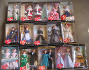 I Love Lucy Barbie Dolls Collection, Lot Of15 Nrfb Free Ship U.s.