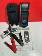 Midtronics Exp-800 Battery Electronics Diagnostic Analyzer W/ Printer And Clamps