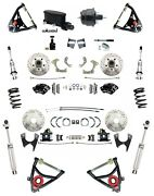 1959-1964 Chevy Impala Disc Brake Kit Wilwood Calipers Coil Overs And Control Arms