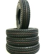 4 New Trailer Tires St225/90d16 Load E 7.50-16 10 Ply Replaces 7.50-16 750-16