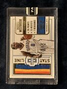 2014 Panini Russell Westbrook Jersey Piece Card 1 Of 1 1/1 One Of One Okc