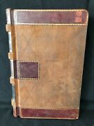 Antique 1899 Ledger Book From Upstate New York Grocer