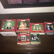 Lot Of 6 Hallmark Assorted Wizard Of Oz Ornaments - Magic Great Oz Good Witch