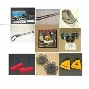Huge Vintage Downhill And Cross Country Ski Shop Parts Inventory Dealership Lot