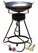 King Kooker 24wc 12 Portable Propane Outdoor Cooker With Wok, 18.5lx8hx18.5w