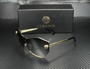 Versace Ve2182 12526i Pale Gold Gradient Grey Silver 43 Mm Womenand039s Sunglasses