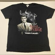Vtg The Twilight Zone Tower Of Terror Shirt Walt Disney World Mgm Cbs Menandrsquos Xl