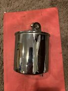 Late 68-69 Corvette Windshield Wiper Door Cannister Actuator Chrome Used