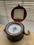 1960s Vintage Keuffel And Esser Co. Altimeter Model 80-0271 Made By Wallace And Tier