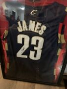 Rare Lebron James Signed Jersey Coa Mint Condition