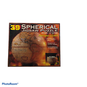 Buffalo Games 3d Antique Globe Spherical Jigsaw Puzzle New