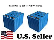 Set Of 16 3.2v 200ah Lifepo4 Lithium Battery For Residential And Commercial And Diy