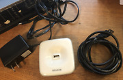 Belkin 4-port Powered Usb Hub With Power Cord And Usb Cable F5u233