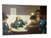 Wild Bill Hickok At Cards Oil Painting