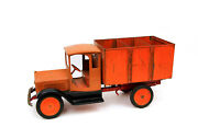 Vintage Sturditoy Coal Truck W/ Dumping Bed Pressed Steel Toy