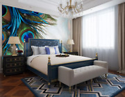 3d Peacock Feather 10564na Wallpaper Wall Mural Removable Self-adhesive Fay