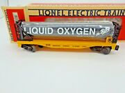 Nib-1993- Lionel Liquified Gas Tank Car For The Katy System. 16368. Read On