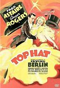 Top Hat Dvd, 2005 Warner Bros Fred Astaire, Ginger Rodgers-new