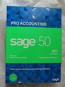 Sage 2021 Pro Accounting Sage 50 Accounting Software Brand New
