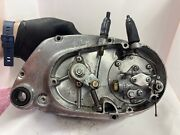 Suzuki Kt120 Right Side Crank Case With Pump And Clutch Cam Untested Ships In Us