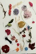 25 Vintage Millinery Flowers 1940s 50s Silk Velvet Linen Etc For Hats And Bouquets